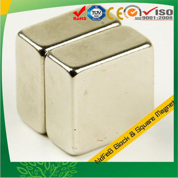 Sintered NdFeB Large Block Square Magnet