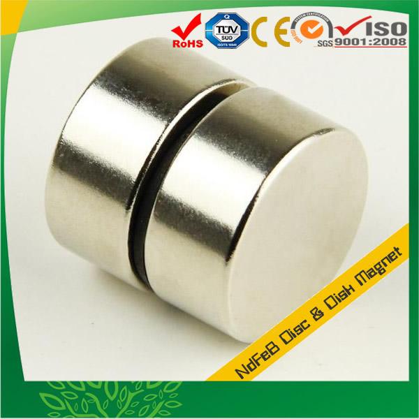 Neo Disc Rare Earth Magnet, Sintered Neodymium Disc Magnet, Customized Neodymium Disk Magnet, High Coercive Strength Sintered Rare Earth Neo Magnet, N42 Neodymium Magnet