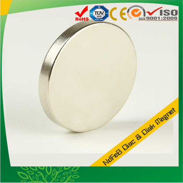 Round NIB Disc Magnets