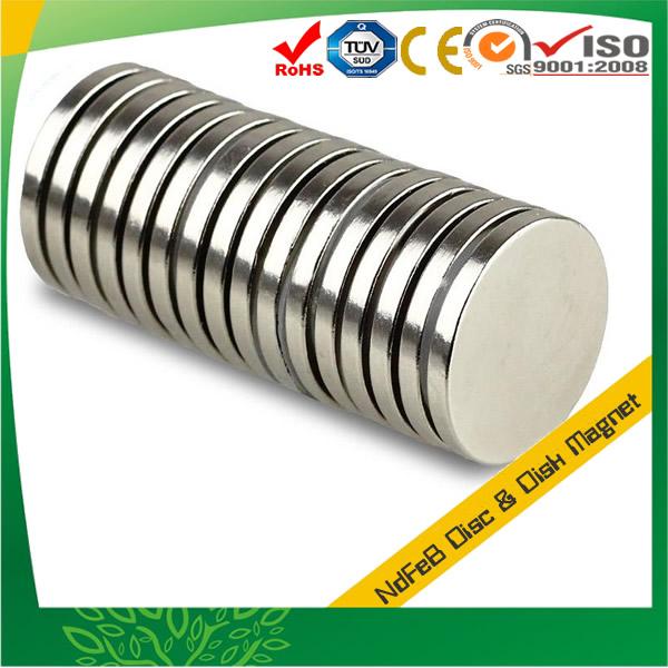 Sintered Disk Neodymium Magnet