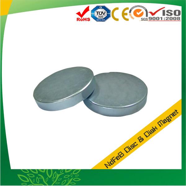Zn Plating Neodymium Round Magnet
