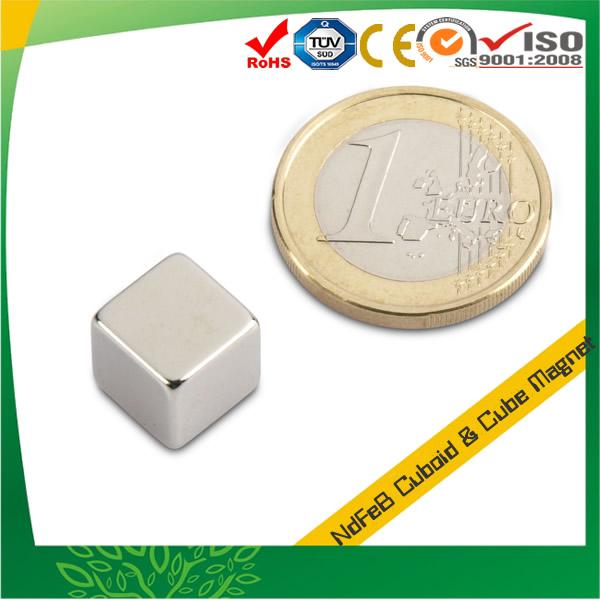 10mm Cube Neodymium-Iron-Boron