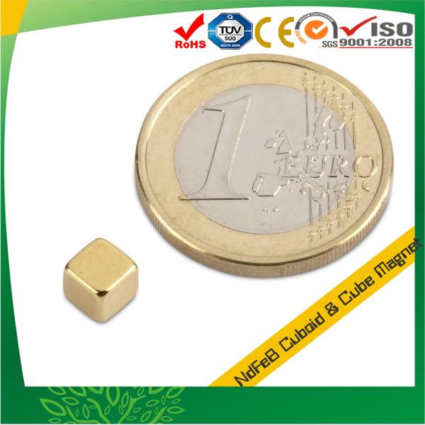 5mm Cube Shape Neodymium Magnet