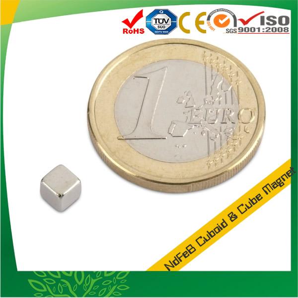 Cube Neodymium Magnet