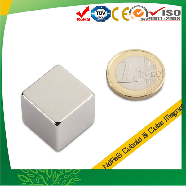 High Powerful Sintered Cube Magnet