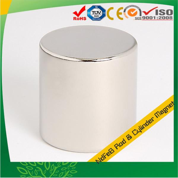Larger Neodymium Cylinder Magnet N52