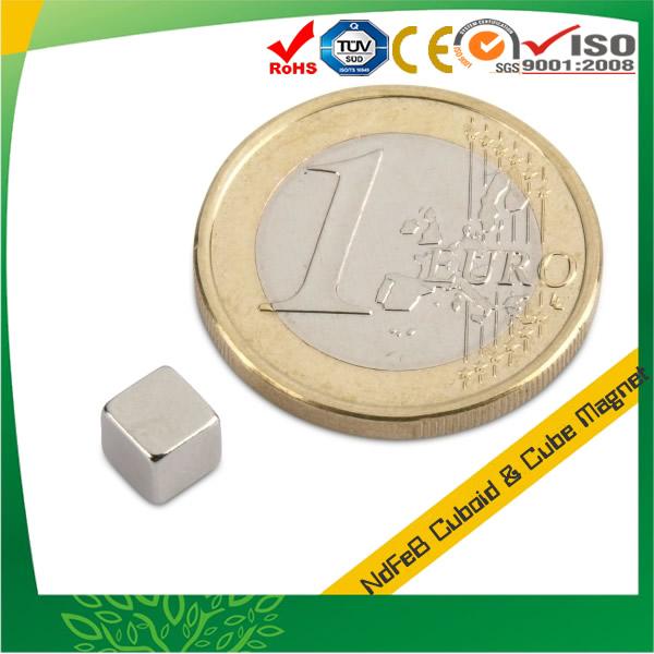 Neodymium-Iron-Boron Cube Magnet