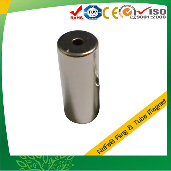 Nickel Plated Powerful Tube Magnet