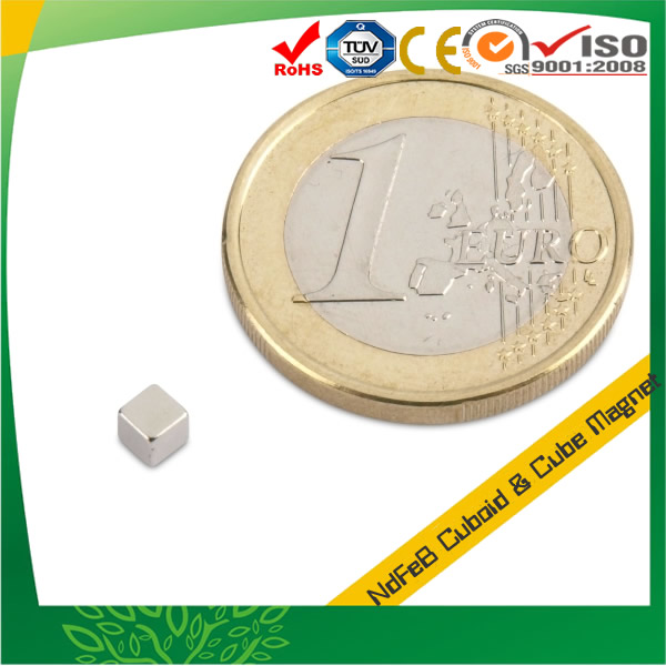 Powerful Small Neodymium Cube Magnet