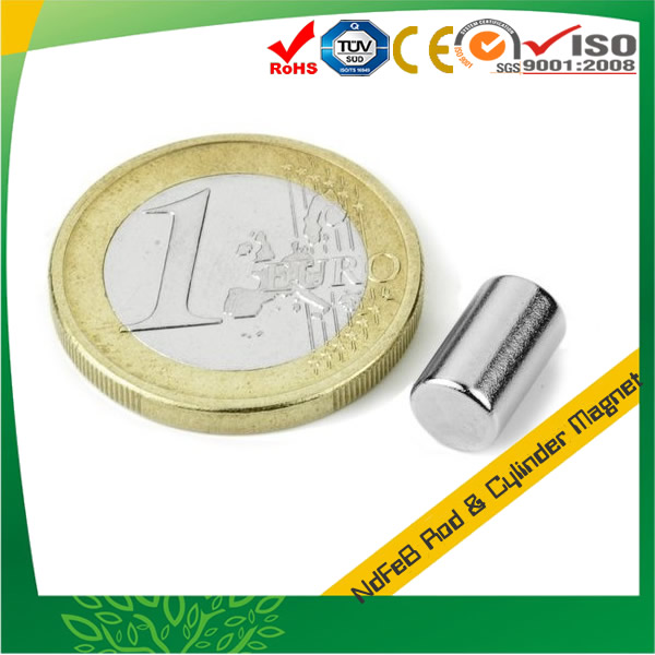 Rare Earth Neodymium Cylindrical Magnet