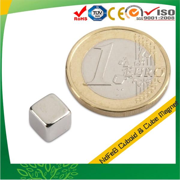 Super Permanent Magnet NdFeB Cube