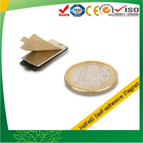 Block Self Adhesive Neodymium Magnet