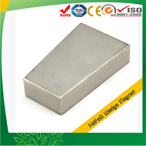 Buy Neodymium Magnet Wedge Shaped