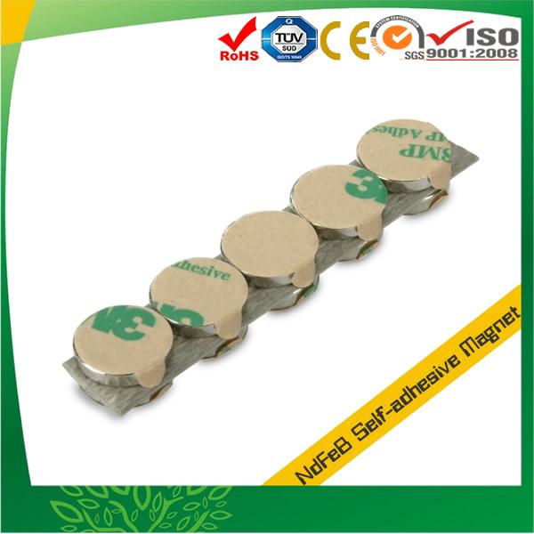 Disc Neodymium Adhesive Magnet