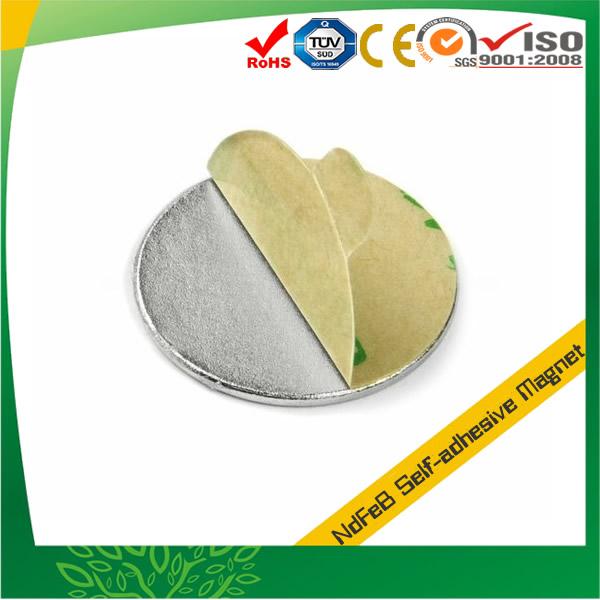 Neodymium Adhesive Back Disc Magnet