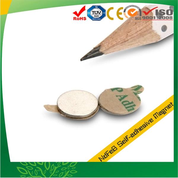 Round Neodymium Self-adhesive Magnet
