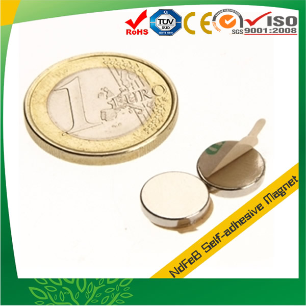 Self Adhesive Disk Neo Magnet