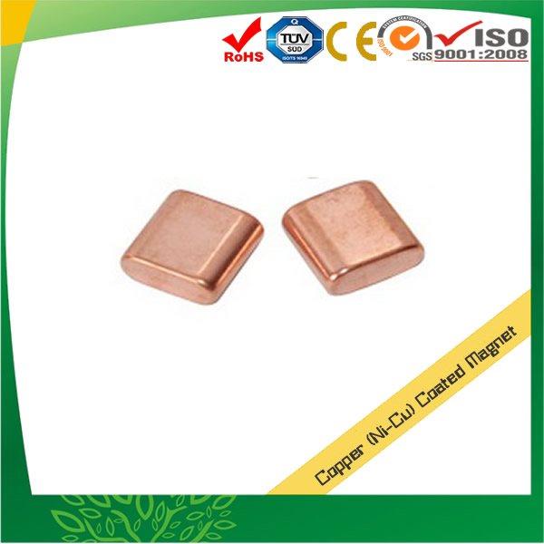 Copper Coated NdFeB Magnets