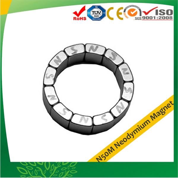 High Temperature N50M Sintered Neodymium Magnet