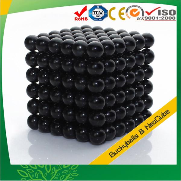 Metallic Black Nanodots Magnets