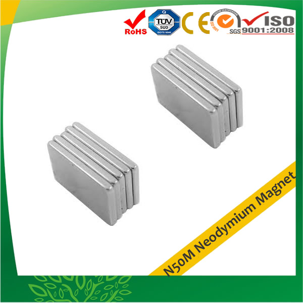 N50M Neodymium Rectangular Magnets