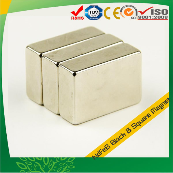 Ni-Cu-Ni Coating Sintered Neodymium Magnets
