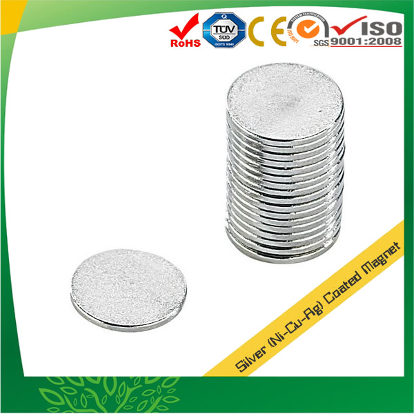Silver Coating Neodymium Magnets