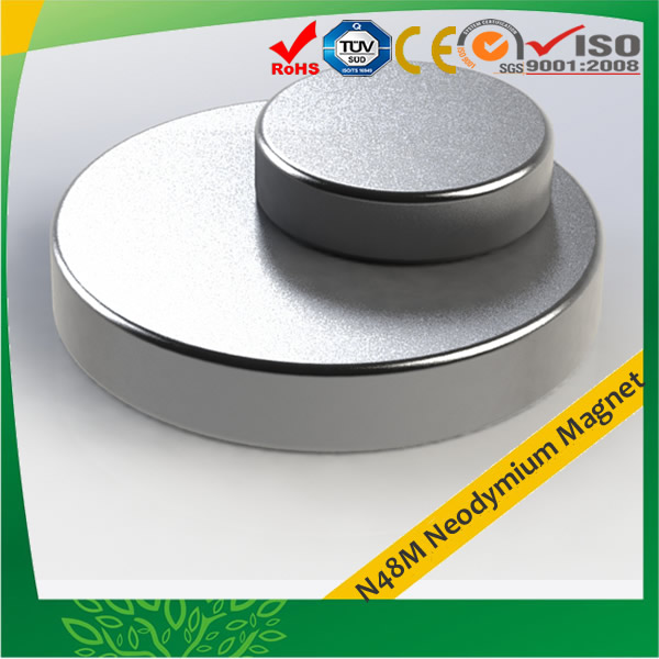 Super Strong Disc N48M Neodymium Magnet