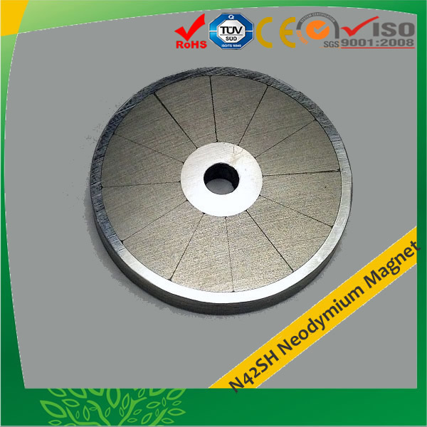 Industrial N42SH Magnets for Motors