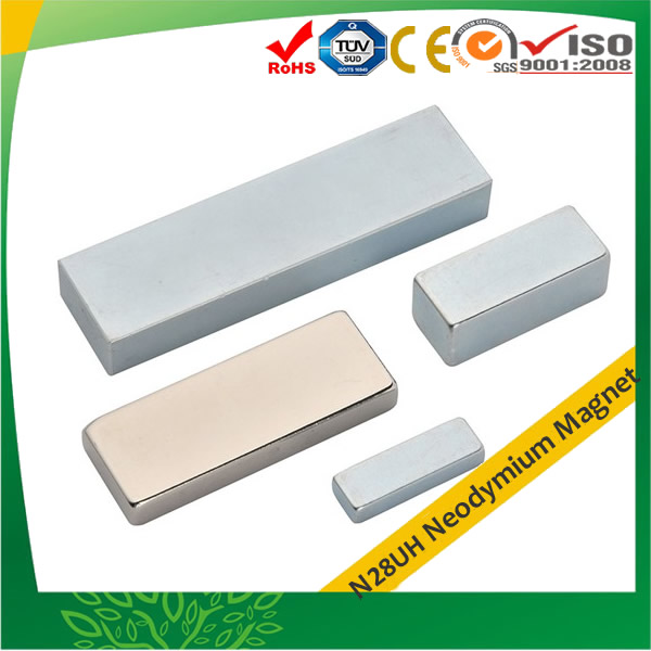 N28UH Rare Earth Neo Block Magnets