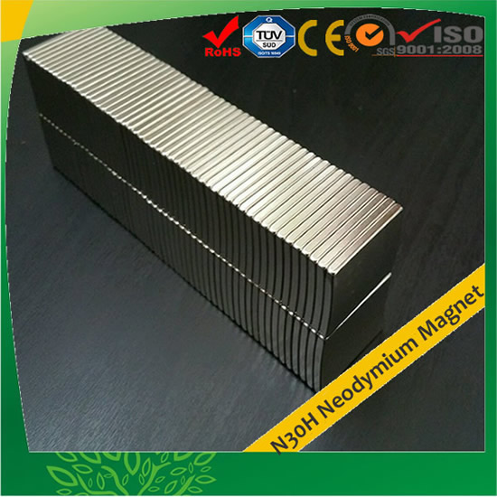 N30H Customized Neodymium Magnet for Rotor