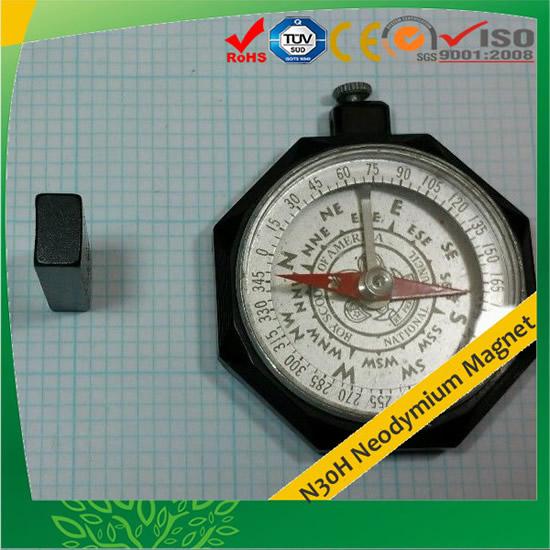 N30H Neodymium Magnet Segment Epoxy Plating