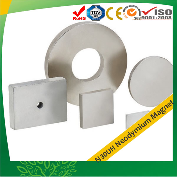 N30UH Neodymium-Iron-Boron Magnets