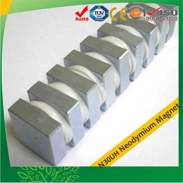 N30UH REFeB Block Industires Magnet