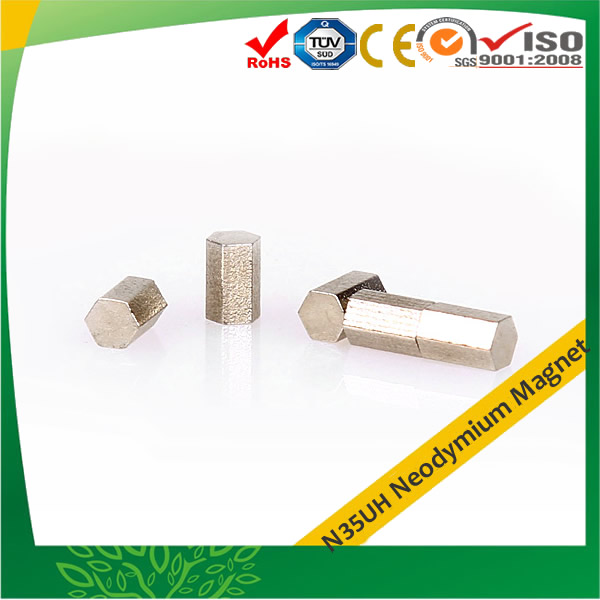 N35UH NdFeB Hexagonal Magnets