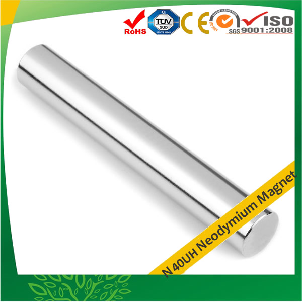 N40UH Neodymium Rod Bar Magnet