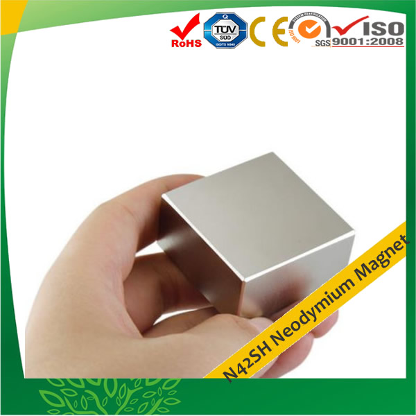 N42SH Wind Turbine NdFeB Generator Magnets