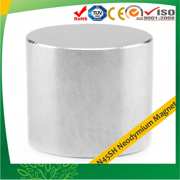 N45SH Sintered Neodymium-Iron-Boron Rod
