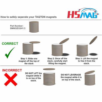 Neodymium Magnets Handling Guidelines