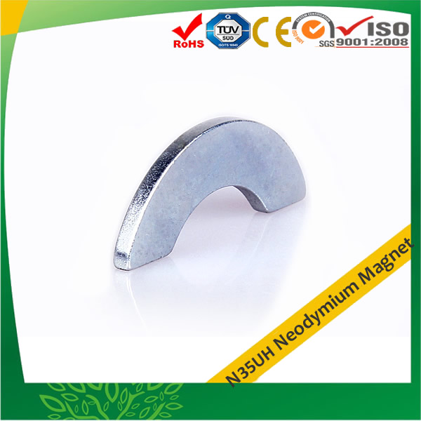 Rare Earth Arc N35UH Magnets