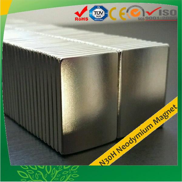 Segment Neodymium Magnets N30H