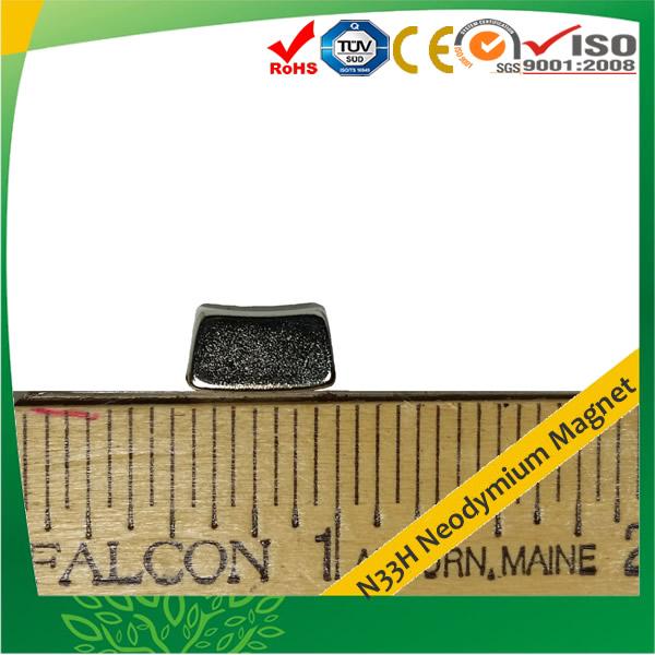 Small Motor Magnet Neodymium N33H