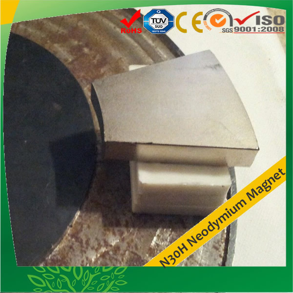 Strong Wedge Neodymium Magnet N30H