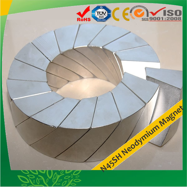 Wind Turbine Segment Magnets 45SH