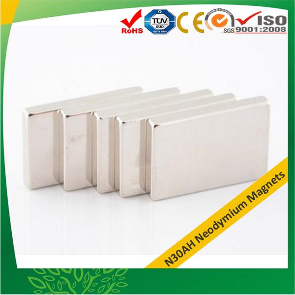 Block N30AH Neodymium MagnetsBlock N30AH Neodymium Magnets