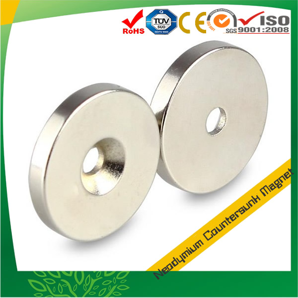 Countersunk Disc Neodymium Magnet