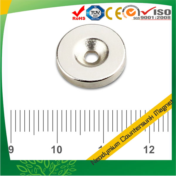 Disc Countersunk NdFeB Magnet