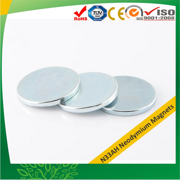 High Grade Disc Custom Neodymium Magnets