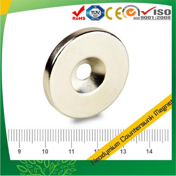 High Grade Disc Round Countersunk Magnet