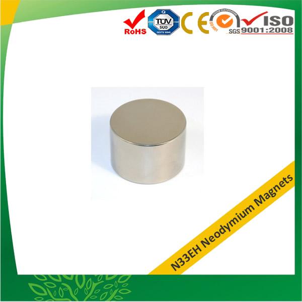 N33EH Sintering Neodymium-Iron-Boron Disc